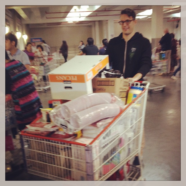 In spite of the Aussie citizenship, @rdrktr is still a Yank when it comes to Costco.