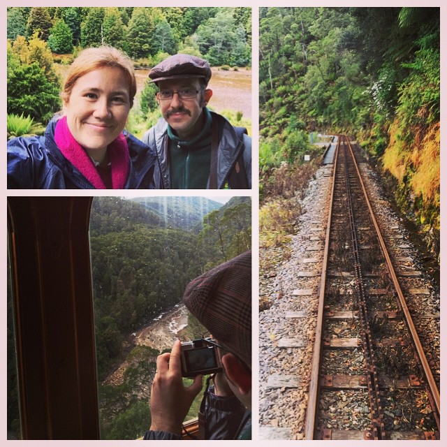 We had a fantastic time on the West Coast Wilderness Railway today! Highly recommended if you're ever in this part of the world.