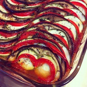 I made a beautiful, tasty thing tonight.  #ratatouille